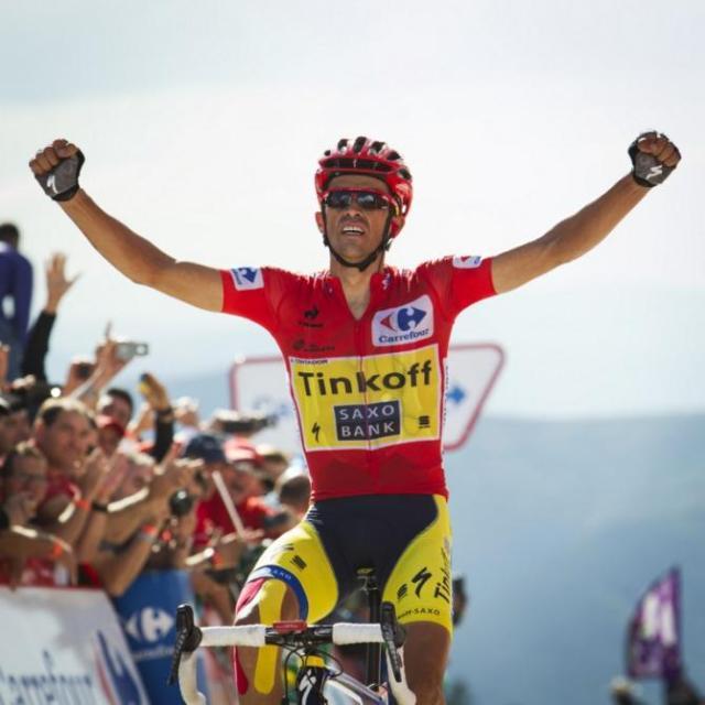 Contador Vence a 20ª etapa Vuelta 2014.