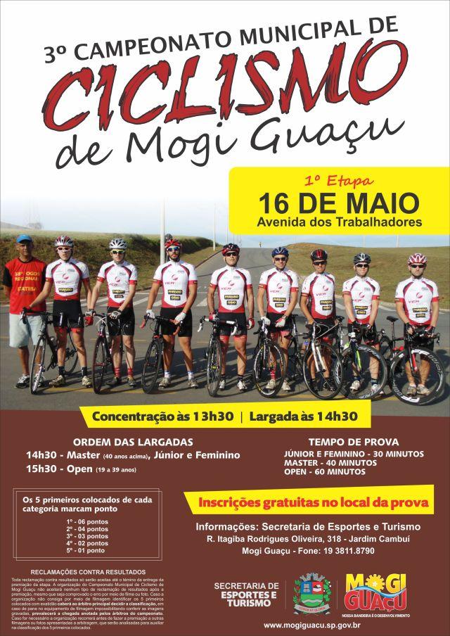 Cartaz Ciclismo