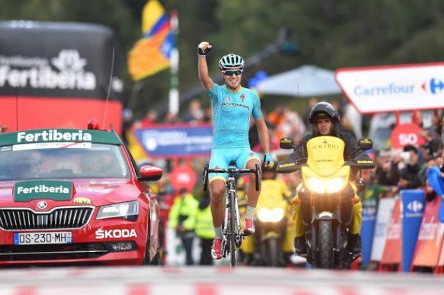 Landa Vence a 11ª Etapa da Vuelta a España 2015