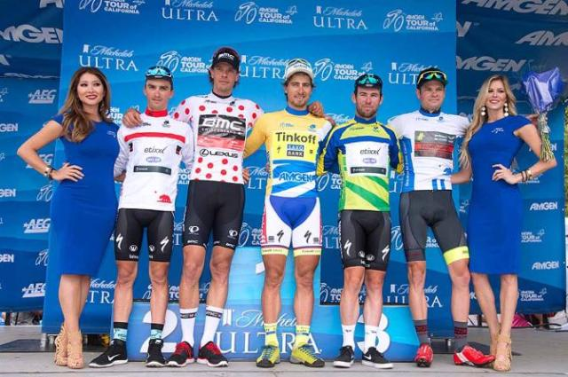 As camisas de lideres do tour california 2016