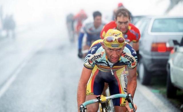 Pantani e Ivan Gotti Giro 1999