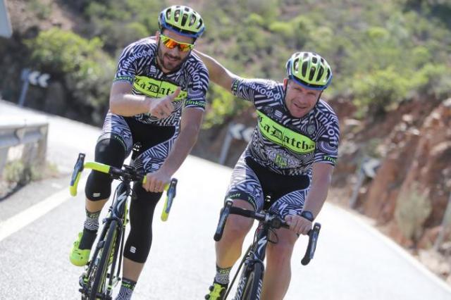 Ivan Basso e De Jongh.