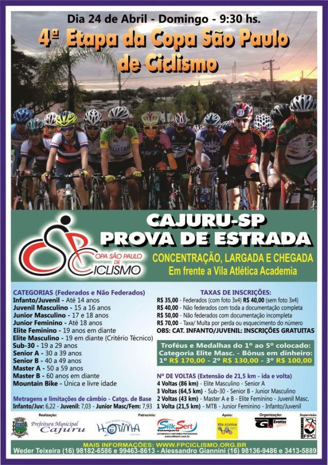 4ª Etapa CSPC 2016 - Cajuru