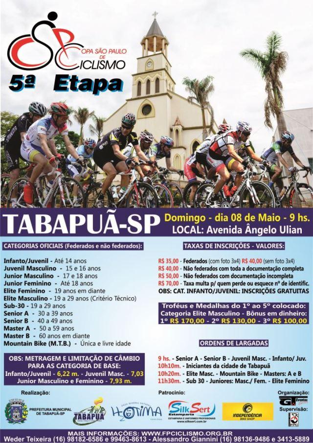 4ª Etapa CSPC 2016 - Tabapuã