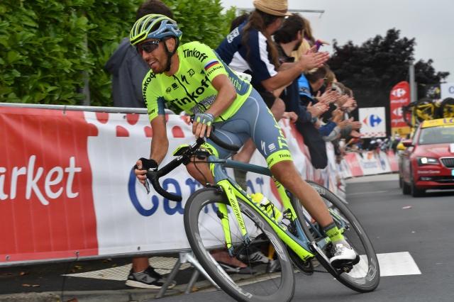 Kiserlovski se envolveu acidente 5 etapa Vuelta.